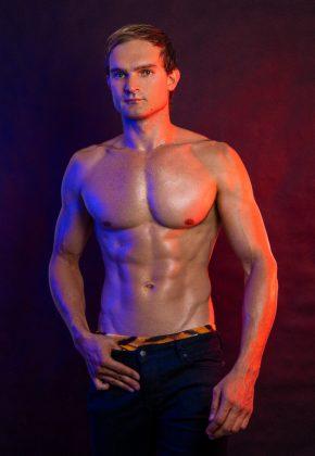 Sydney topless waiter Anton